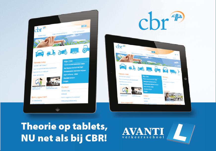 Avanti Theorie Tablets CBR